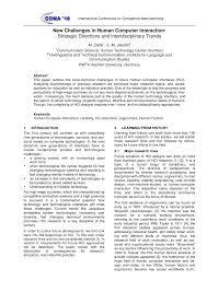 Interdisciplinary Interaction Design Pdf Pdf New Challenges In Human Computer Interaction Strategic