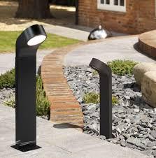garden lighting bollards. Soprano Black Bollard Light For Exterior Lighting IP65 Using 9W GX53, Astro 0677 Outdoor Garden Bollards