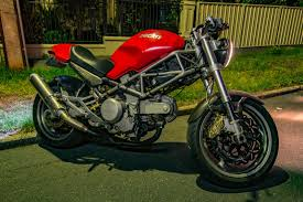 2002 ducati monster s4 400 cafe racer for sale