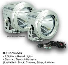 iron cross bumper round led light kit op3r ickit vision x whole vision x 10 degree chrome round optimus led light kit two lights and install kit xil