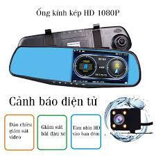 Camera hành trình ô tô xe hơi CAR365 Chính Hãng, Màn 4.3 inch Có cả cam  trước và cam sau tiện lợi, Chất lượng Full HD 1080 -CAR19 - Camera hành  trình