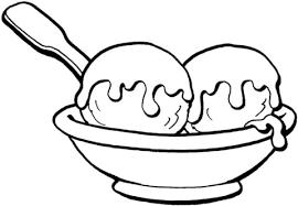 Disegno Di Gelato Su Coppa Da Colorare Disegni Da Colorare E
