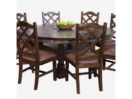 Sunny Designs Furniture Santa Fe Collection Sunny Designs Santa Fe Traditional Round Dining Table With