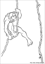 Small Picture Tarzan coloring picture to color Pinterest Tarzan and Craft