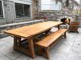 marvelous farm table benches 12 fht 2