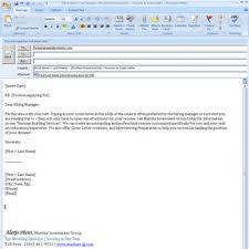 Sending Resume Via Email Example Subject Line Your Letter Sample