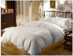 luxury 100 egyptian cotton bedding sets sheets queen white duvet cover king size double bed in a bag linen quilt doona bedsheet spread canada 2019 from