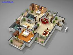 breathtaking 3d house plans in 1000 sq ft ideas best inspiration