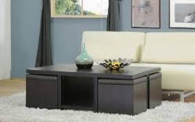 Coffee Table, Seating And Storage  Even In Small Spaces