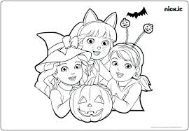 Coloring Pages Nick Jr Full Nick Jr Coloring Sheets Nickelodeon Me