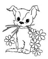 Small Picture Cute Puppy Coloring Pages Printable Kids Colouring Pages puppy