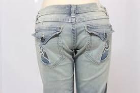 Affliction Jeans Size Chart Details About Affliction Womens Denim Jeans Jade Cutout Fleur Flap Volume Size 32 X 35