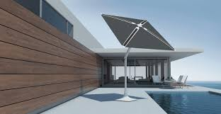 shadecraft s smart patio umbrella has