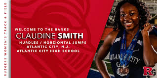 MEET R SIGNEES Claudine Smith -... - Rutgers Women's Track & Field |  Facebook