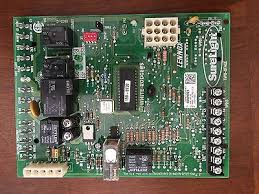 lennox surelight control board. white-rodgers lennox surelight 46m9901 control board 50m61-120-03 - used