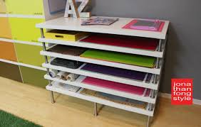 Flat File Storage: Ikea Hack