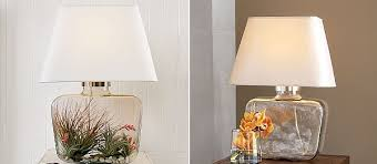 Glass Base Table Lamps Adorable Personalized Atrium Glass Table Lamp