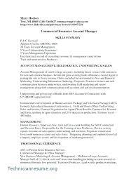 Insurance Personal Sample Resume Ruseeds Co