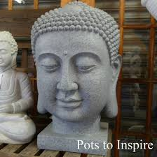 dinova extra large resin buddha head