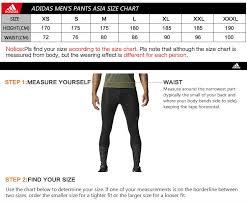 Adidas Womens Shorts Size Chart Original Adidas Performance Mens Pants Sportswear