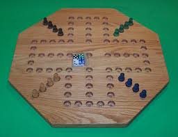 Wooden Peg Board Game Wooden Game Boards Wooden PEG Game Board Aggravation 100 44