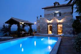 Luxus Traditionelle Villa Mit Herrlicher Aussicht Und Privatem Pool