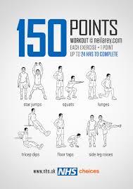 Gym Free Workouts Nhs