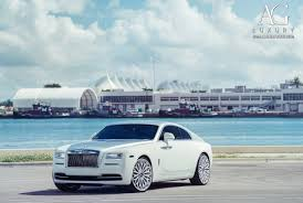 rolls royce wraith white. white rolls royce wraith 24 inch forged monoblock concave mesh two tone wheels
