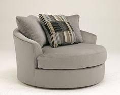 round accent chair. Westen - Granite Wood Oversized Swivel Accent Chair Round