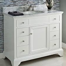42 white vanity. Contemporary Vanity Framingham 42 Vanity  Polar White And A