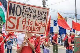 Resultado de imagen para farsa electoral en colombia