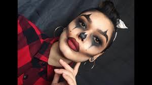 chola clown makeup look