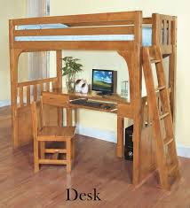 discovery world furniture twin over desk honey convertible bunk bed with chair bookcase
