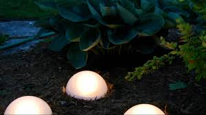 Solar Powered Lights Are Useful For Lighting A Garden Path