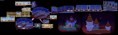 Flower Fields Paper Mario Paper Mario Maps N64 Mario Universe Com