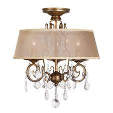 full size of lighting glamorous flush mount chandelier with shade 0 anitque gold world imports flushmount