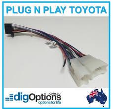 plug stereo radio wire harness wiring connector iso adapter cable plug stereo radio wire harness wiring connector iso adapter cable for many toyota models au 14 00