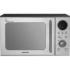 sharp 900w standard microwave r372km black. daewoo kor3000dsl 20l 800w duo plate touch control microwave in stainless steel sharp 900w standard r372km black