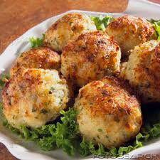Image result for crab cake dinner pics.