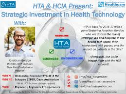 hta events health tech assembly hta hcia present jonathan gordon of nyp ventures strategic investment in health technology