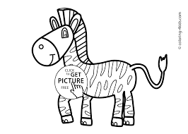 Small Picture Animals coloring pages for kids printable free