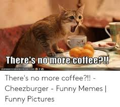 There is nothing a good cup of coffee couldn't fix. There S No More Coffee Canhaschee2burger Com There S No More Coffee Cheezburger Funny Memes Funny Pictures Funny Meme On Me Me