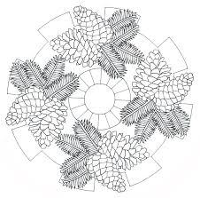 Pingl Par I T Sur Mandala Christmas Winter Pinterest