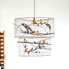 birdcage pendant light chandelier copper double birdcage pendant light chandelier this chandelier is so fly copper birdcage pendant light