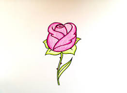drawing lesson how to draw a rose grab paper crayons and a marker and follow along with this simple drawing tutorial happy creating