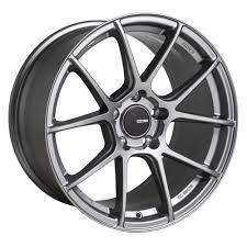 Enkei Wheels Tsv Storm Grey 17x8