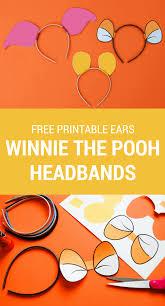 make a diy winnie the pooh headband using these free printable winnie the pooh ears for