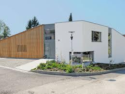 m-haus mit teilweiser Holzfassade.   m-häuser   Pinterest ...