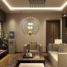 decorative wall clocks for living room colors