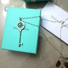 tiffany and co knot key pendant luxury